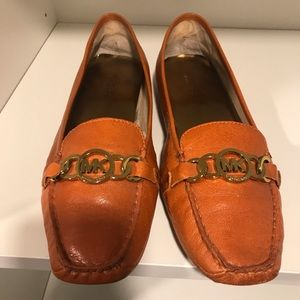 Ladies Michael Kors Leather Loafers